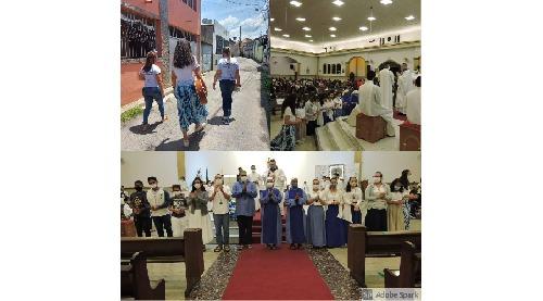 Semana Missionária na paróquia São Sebastião conta com participação da Comunidade Sementes do Verbo